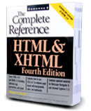 HTML The Complete Reference